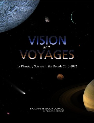 Large book cover: Vision and Voyages for Planetary Science in the Decade 2013-2022
