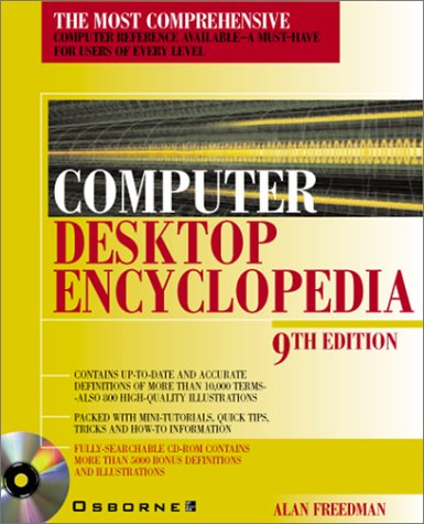Large book cover: Computer Desktop Encyclopedia