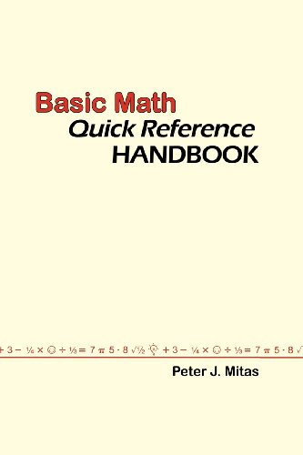 Large book cover: Basic Math Quick Reference Handbook