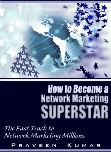 Large book cover: How to Become Network Marketing Superstar