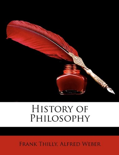 Large book cover: History of Philosophy