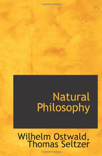 Large book cover: Natural Philosophy