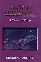 Large book cover: Altai-Himalaya: A Travel Diary
