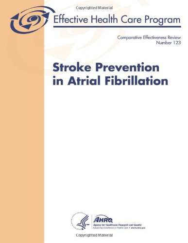 Large book cover: Stroke Prevention in Atrial Fibrillation
