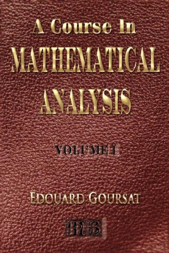 Large book cover: A Course in Mathematical Analysis