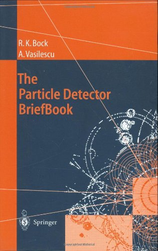 Large book cover: The Particle Detector BriefBook