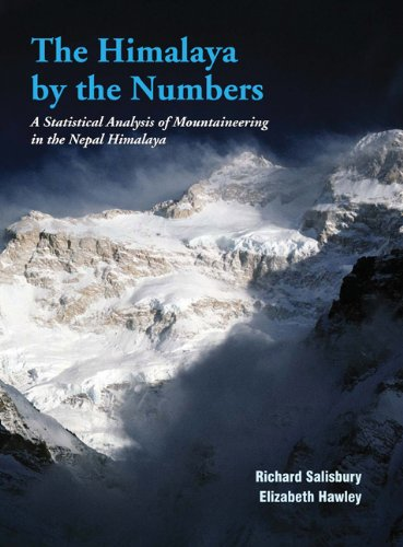 Large book cover: The Himalaya by the Numbers