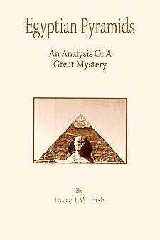 Large book cover: Egyptian Pyramids: An Analysis of a Great Mystery