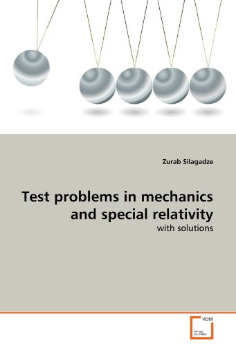 Large book cover: Test Problems in Mechanics and Special Relativity