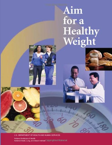 Large book cover: Aim for a Healthy Weight