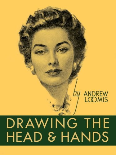 Large book cover: Drawing the Head and Hands