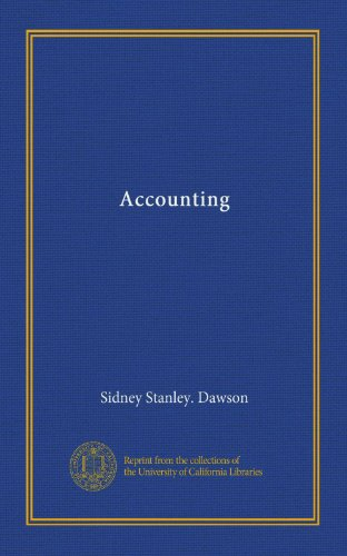 Large book cover: Accounting