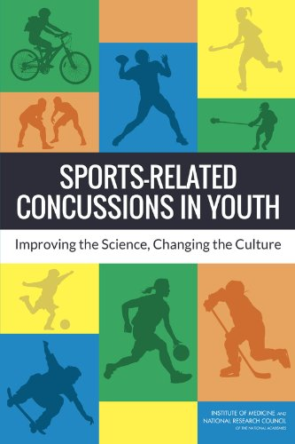 Large book cover: Sports-Related Concussions in Youth