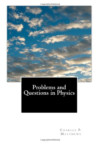 Large book cover: Problems and Questions in Physics