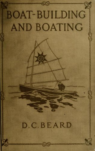 Large book cover: Boat-Building and Boating