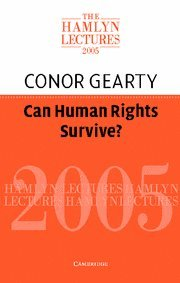 Large book cover: Can Human Rights Survive?