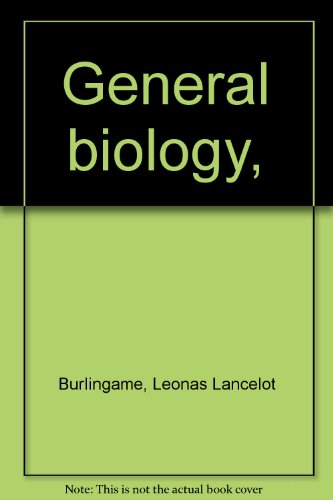 Large book cover: General Biology