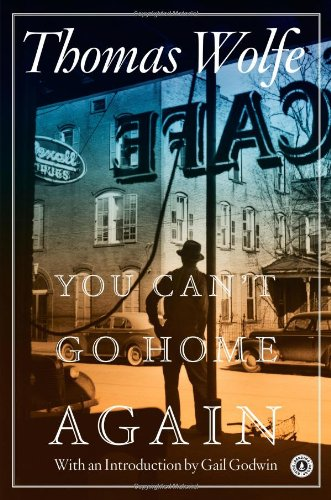 Large book cover: You Can't Go Home Again