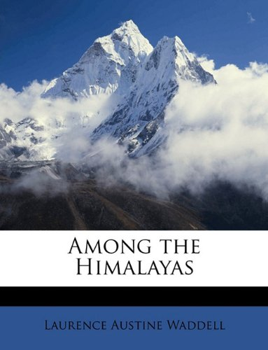 Large book cover: Among the Himalayas