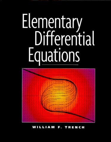 Large book cover: Elementary Differential Equations