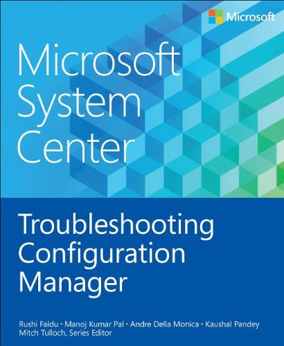 Large book cover: Microsoft System Center: Troubleshooting Configuration Manager