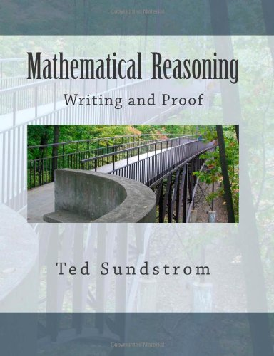 Large book cover: Mathematical Reasoning: Writing and Proof