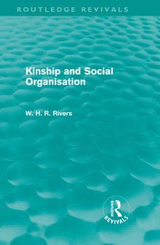 Large book cover: Kinship and Social Organisation