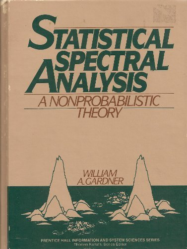Large book cover: Statistical Spectral Analysis: A Non-Probabilistic Theory