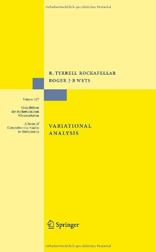 Large book cover: Variational Analysis