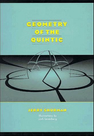 Large book cover: Geometry of the Quintic
