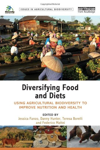 Large book cover: Diversifying Food and Diets