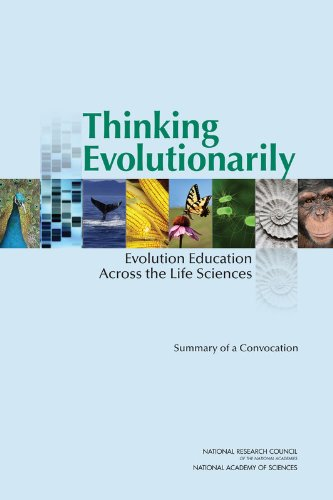 Large book cover: Thinking Evolutionarily: Evolution Education Across the Life Sciences