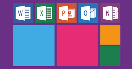 Illustration of Microsoft Applications