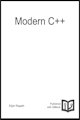 Small book cover: Modern C++