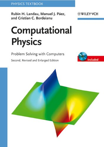 Large book cover: Computational Physics: Problem Solving with Computers