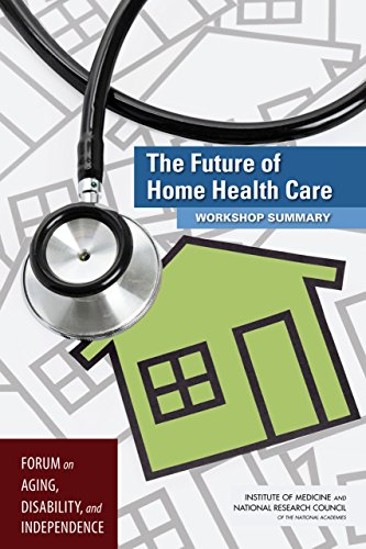 Large book cover: The Future of Home Health Care