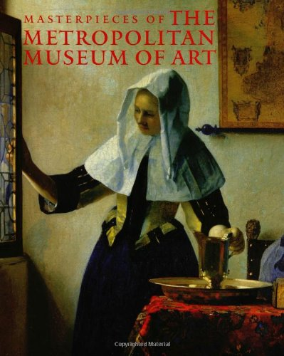 Large book cover: Masterpieces of The Metropolitan Museum of Art