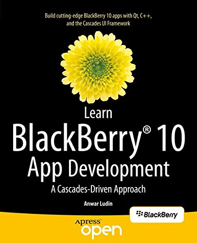 Large book cover: Learn BlackBerry 10 App Development