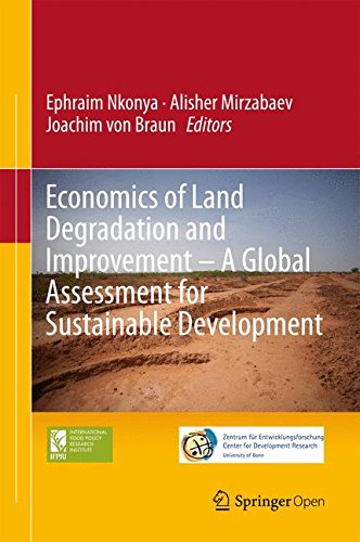 Large book cover: Economics of Land Degradation and Improvement