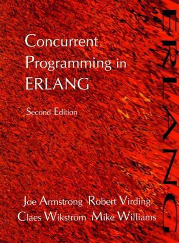 Large book cover: Concurrent Programming in Erlang