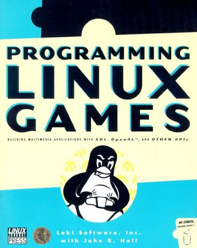 Large book cover: Programming Linux Games