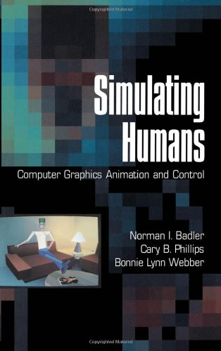 Large book cover: Simulating Humans: Computer Graphics Animation and Control