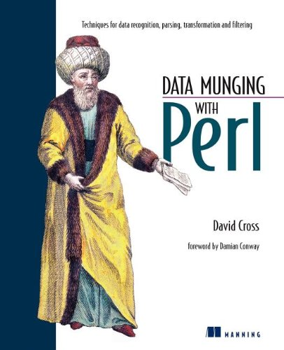Large book cover: Data Munging with Perl