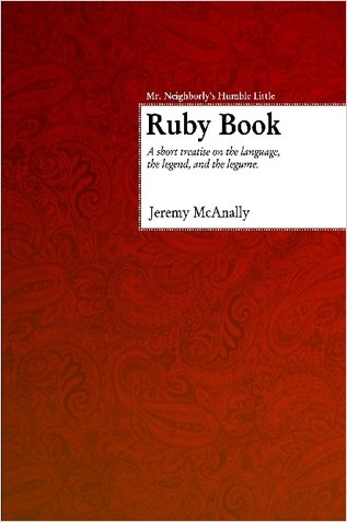 Large book cover: Mr. Neighborly's Humble Little Ruby Book