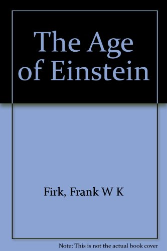 Large book cover: The Age of Einstein