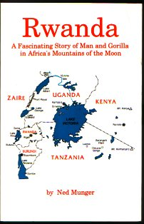 Large book cover: Rwanda: A Fascinating Story of Man and Gorilla