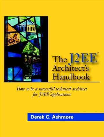 Large book cover: The J2EE Architect's Handbook