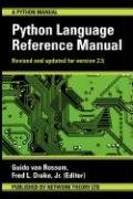 Large book cover: The Python Language Reference Manual