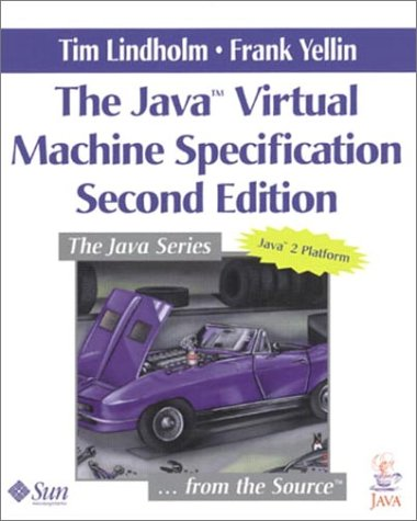 Large book cover: The Java Virtual Machine Specification, 2nd Edition