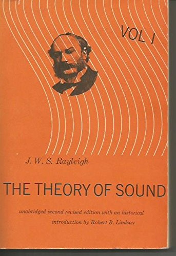 Large book cover: The Theory of Sound, Volume One